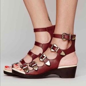 Jeffrey Campbell Leather Sandals
